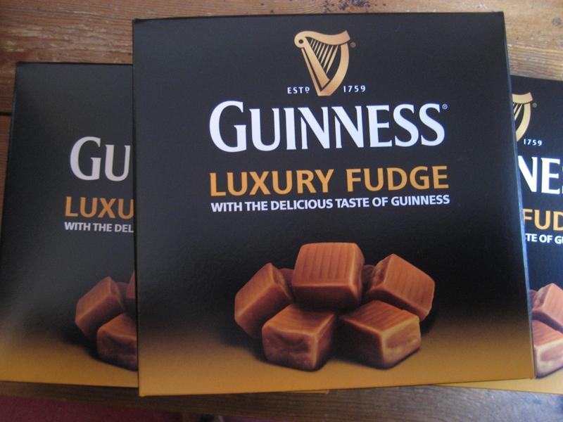 Fudge mit Guinness-Geschmack