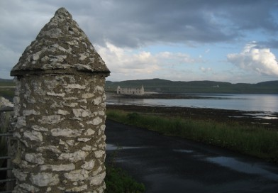 The Round Pillars of Rathlin Island