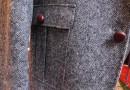 Tweedjacke mit Jagdanleihen
