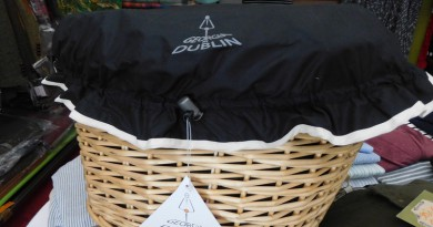 Regenschutz für Fahrradkorb
