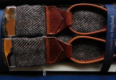 Hosenträger aus Tweed