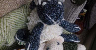 Schaf, handknit