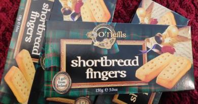 Shortbread Fingers, Buttergebäck