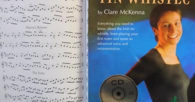 Lehrbuch für die Tin Whistle