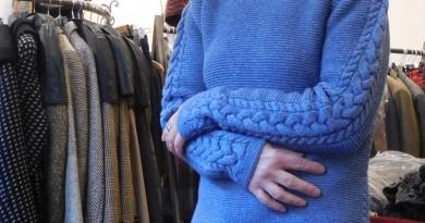 Pulli aus Wolle/Cotton