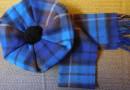 Tam und Schal Buchanan Blue