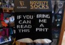 Socken mit Botschaft