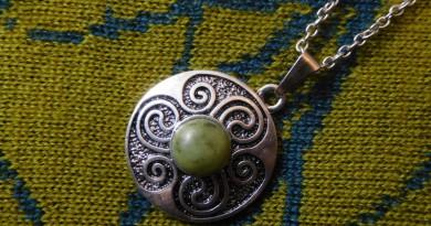 Kette mit Connemara Marble