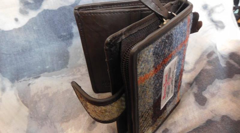 Brieftasche aus Harris Tweed