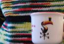Espressotasse mit Guinness-Motiv