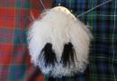 Kilts und Sporrans aus Schottland