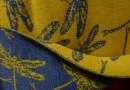 Libellenschwärme auf Schals